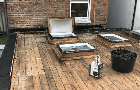 Flat roof and Skylights - before starting