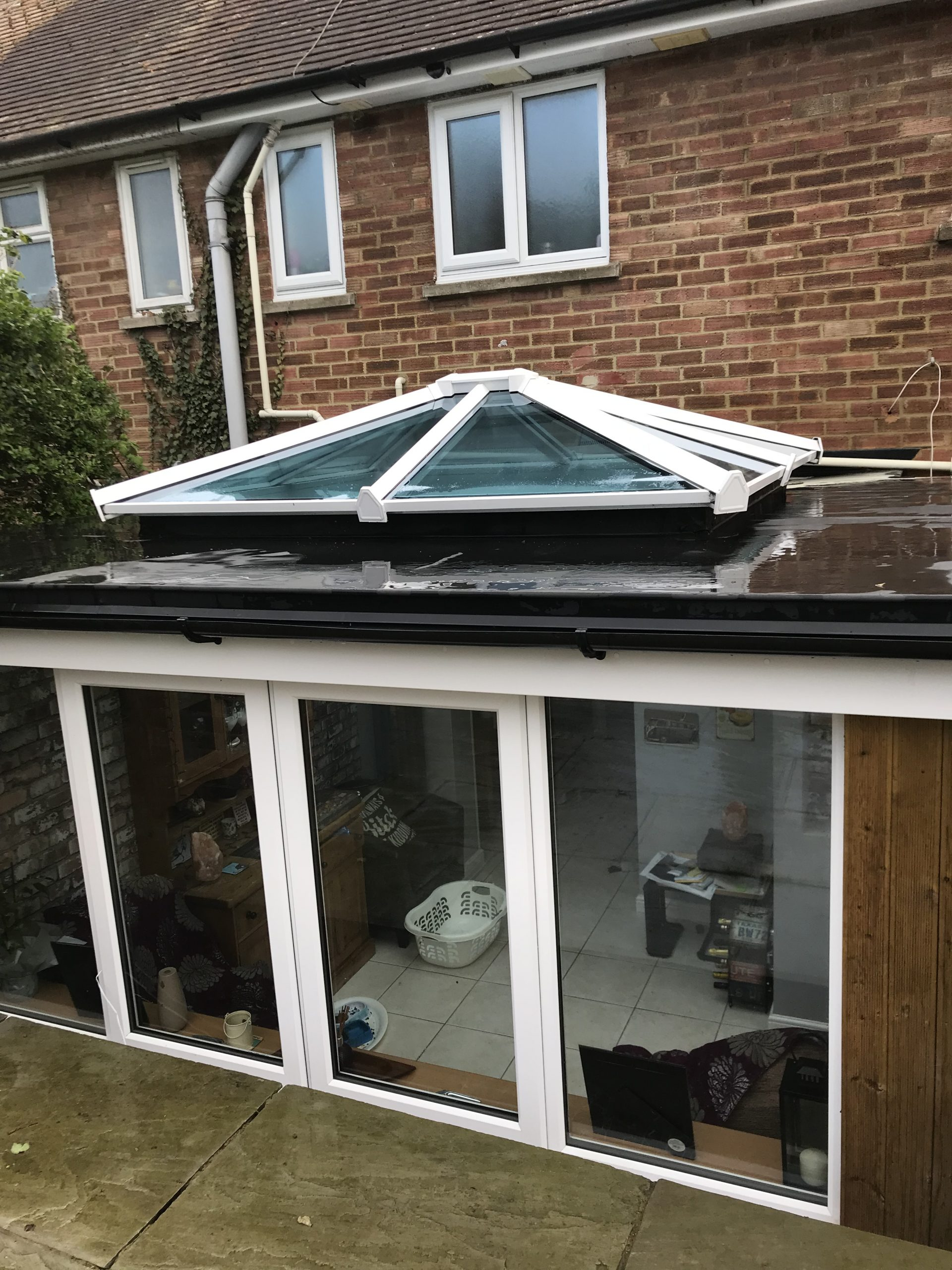 Skypod on flat roof extention Brighton