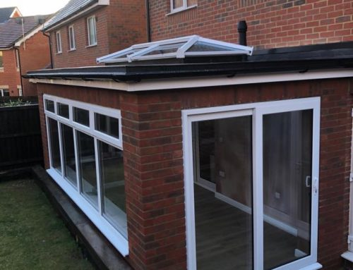 New conservatory installation