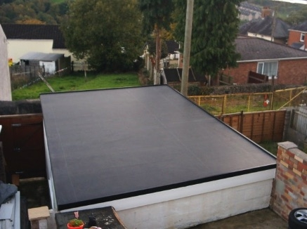 EPDM rubber roof for garages | Permaroof Brighton